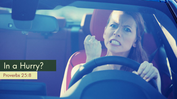 Woman Outraged While Driving