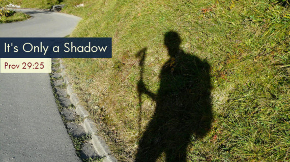 shadow figure of a man