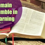 Bible Study Thought